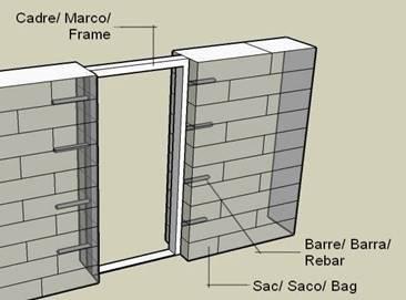 Openings in walls - How to build an exterior door frame ...